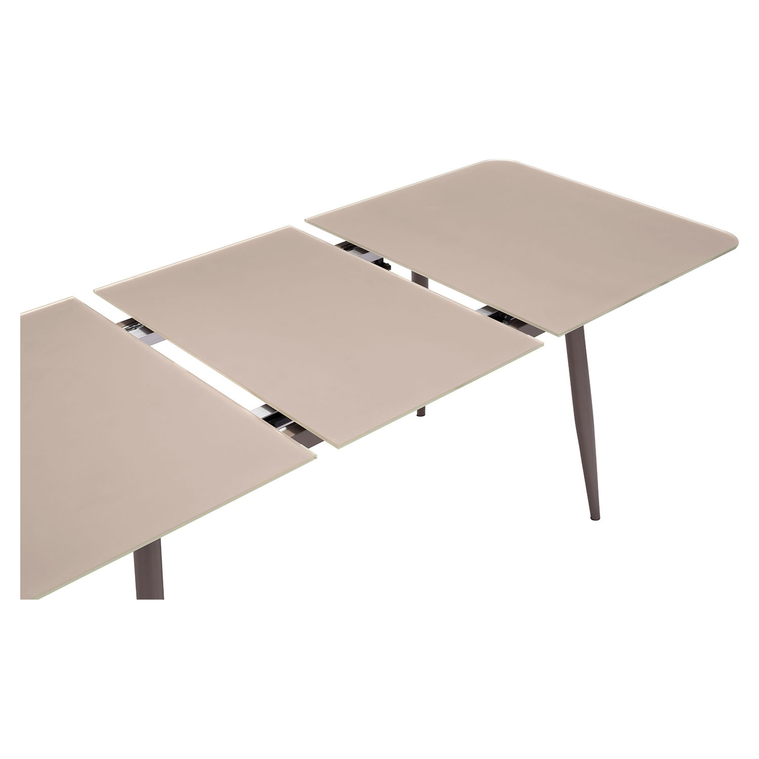 Mercier Extension Dining Table - Mocha - ZM-102132