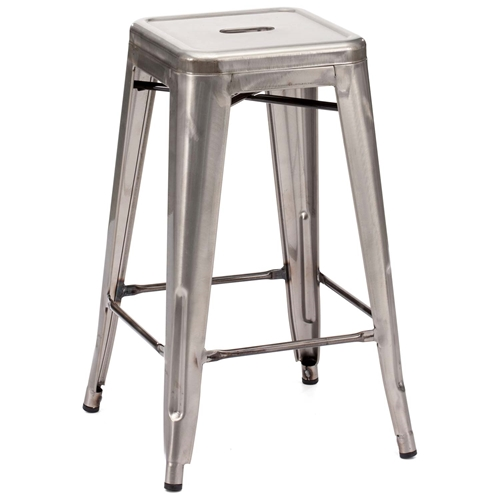 Marius 26 Quot Backless Counter Chair Steel Gunmetal Dcg