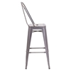 Elio Bar Chair - Gunmetal - ZM-106120