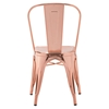 Elio Rose Gold Dining Chair - ZM-108061