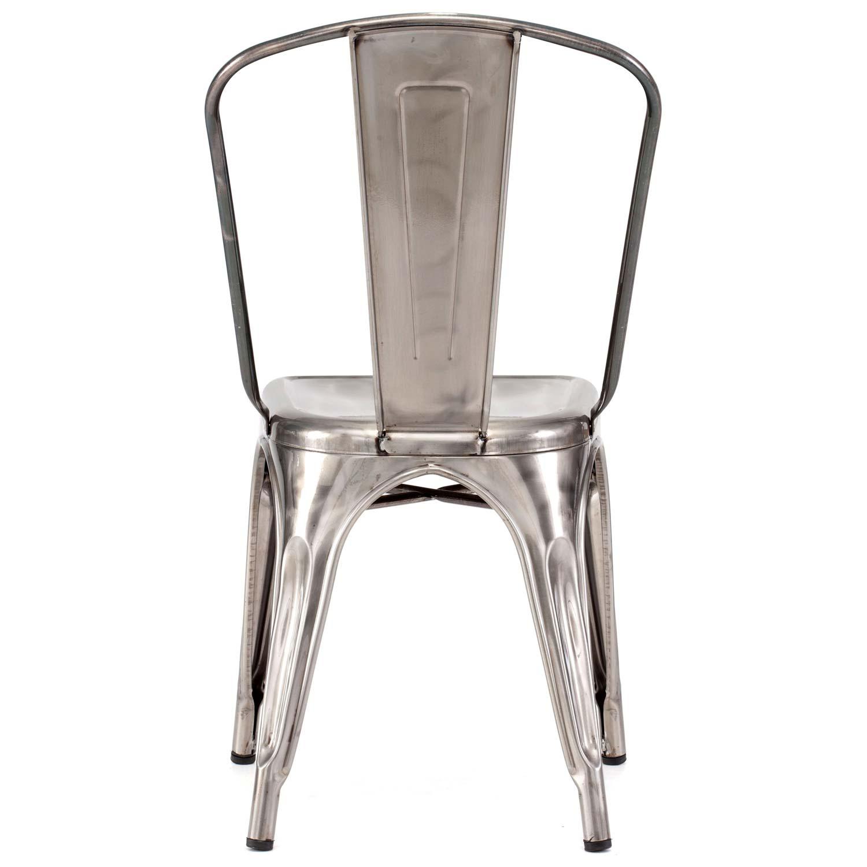 Elio Dining Chair Steel Gunmetal Dcg Stores
