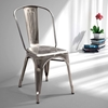 Elio Dining Chair - Steel, Gunmetal - ZM-108140