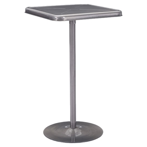 Mallus Gunmetal Bar Table