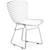 Bertoia Inspired Wire Chairs - Chrome - ZM-188000