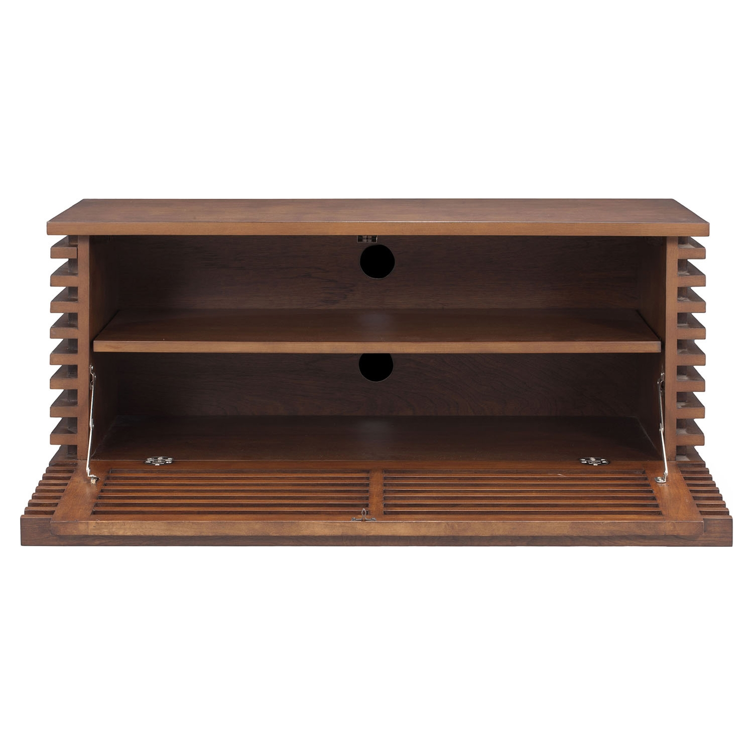 Linea Narrow TV Stand - Walnut - ZM-199053
