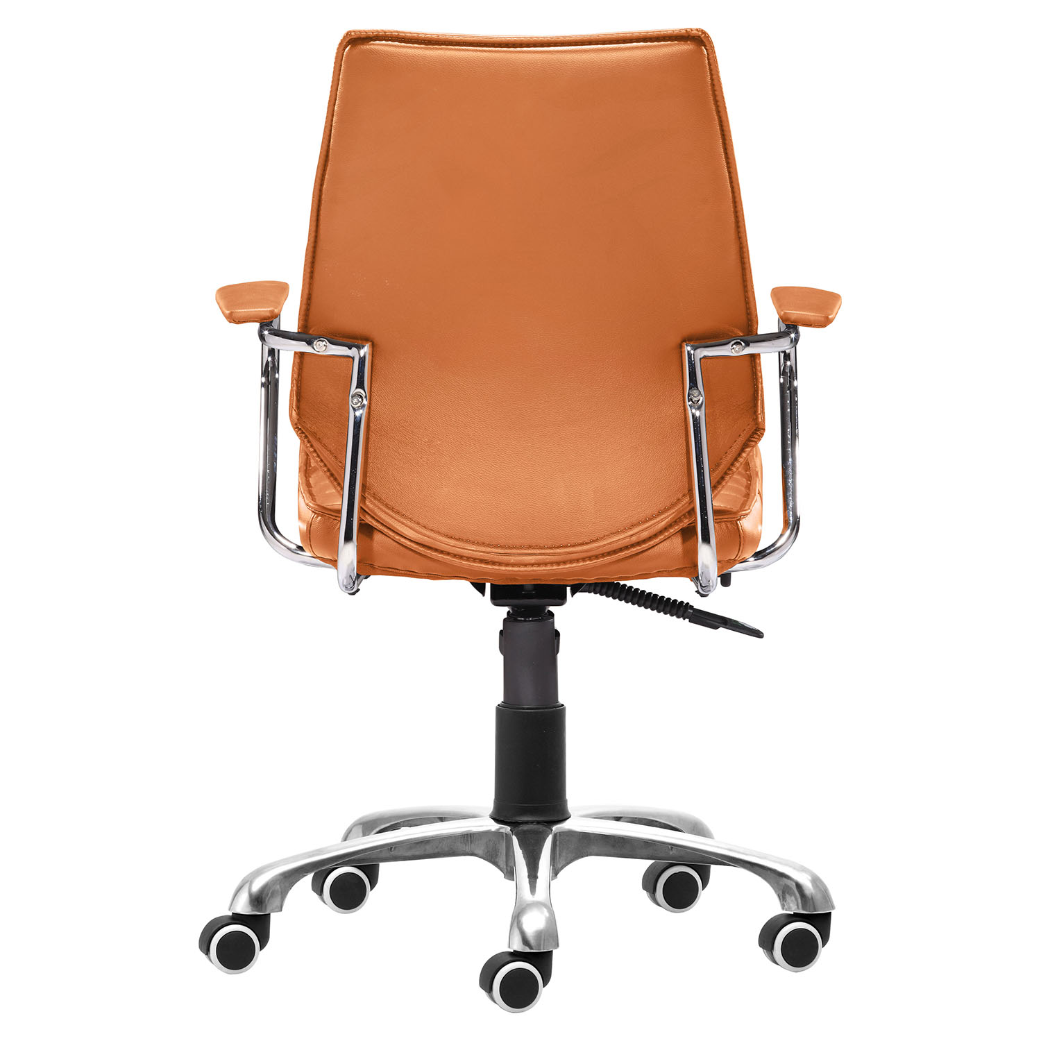 Enterprise Low Back Office Chair Terracotta DCG Stores