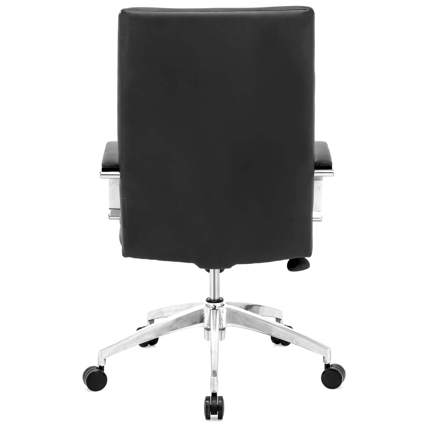 Director Comfort Office Chair - Chrome Steel, Black - ZM-205326