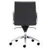 Engineer Low Back Office Chair - Casters, Black - ZM-205895