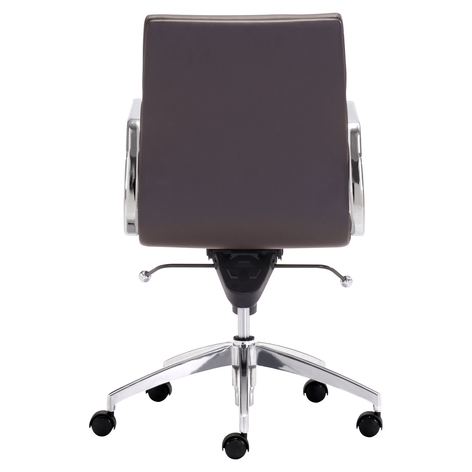 Engineer Low Back Office Chair - Casters, Espresso - ZM-205897