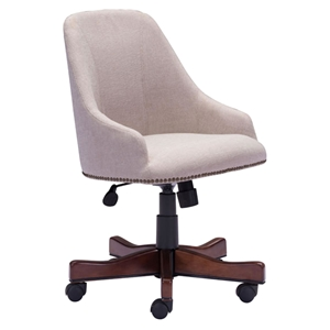 Maximus Office Chair - Casters, Beige