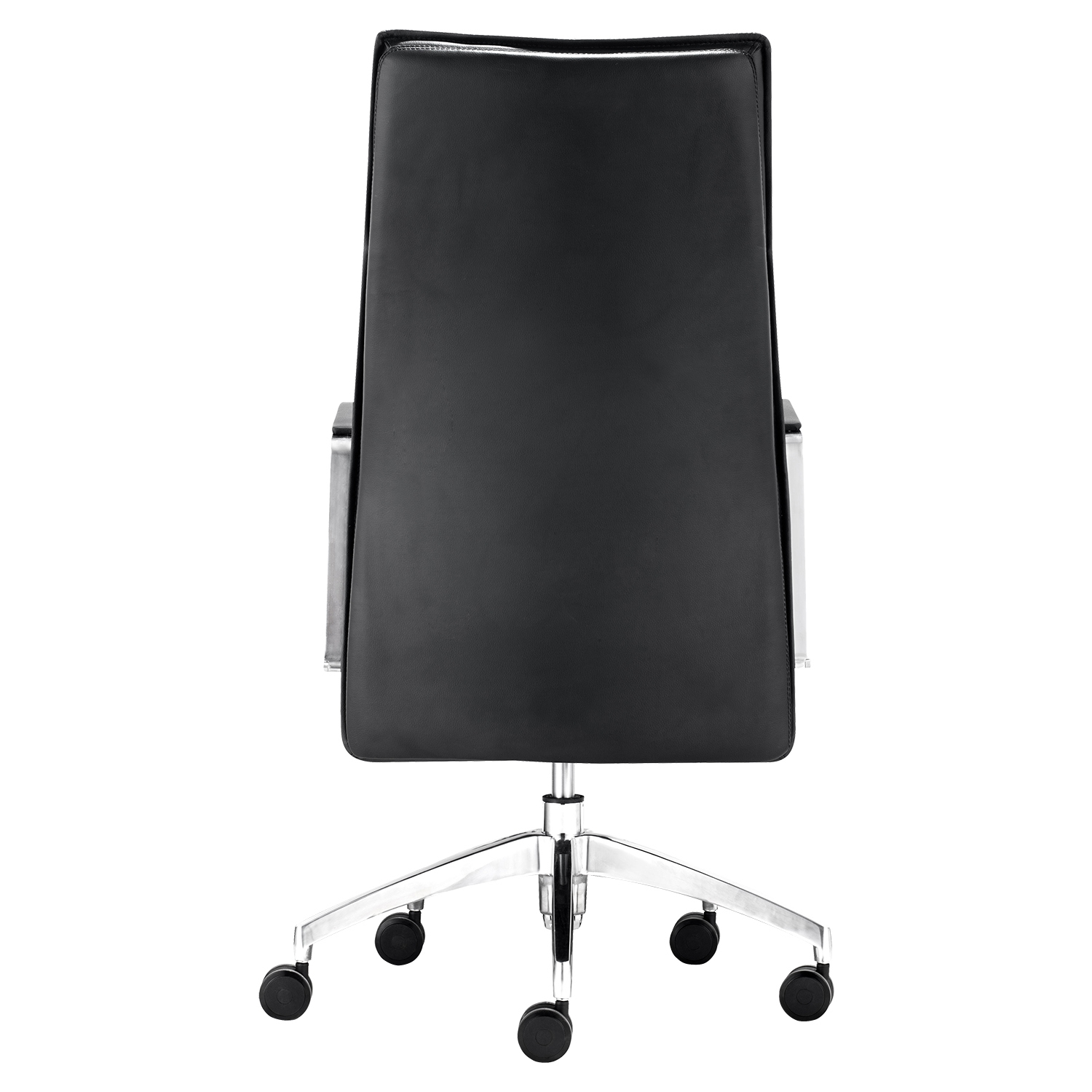Dean High Back Office Chair - Casters, Black - ZM-206130