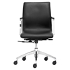 Herald Low Back Office Chair - Black - ZM-206150