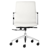 Herald Low Back Office Chair - White - ZM-206151