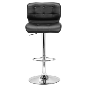 Formula Black Bar Chair - Swivel, Adjustable