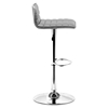 Equation Gray Bar Chair - Swivel, Adjustable - ZM-300220
