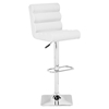 Nitro Bar Chair - Adjustable, White - ZM-301378