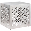 Kailua Modern Stool - Stainless Steel, Square - ZM-401182