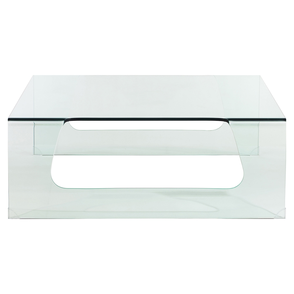 Campaign clear coffee table dcg stores Clear coffee table
