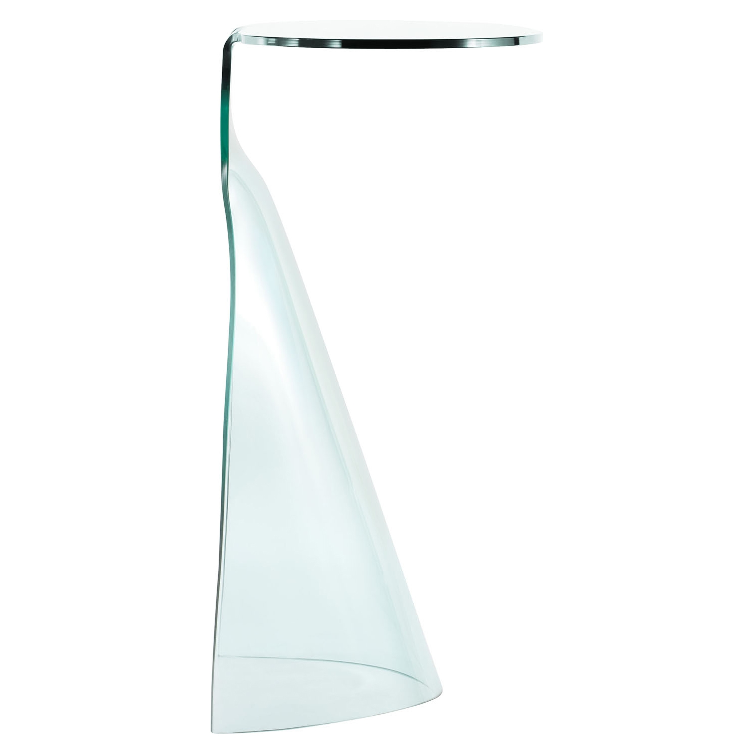 Quest Console Table - Clear - ZM-404089