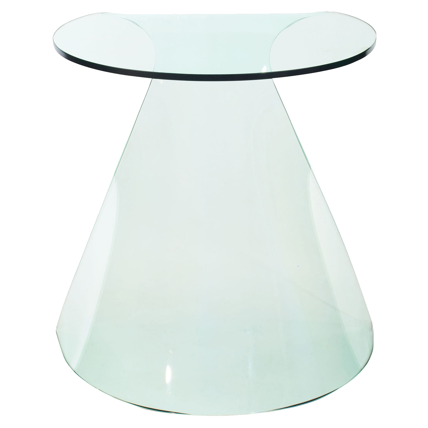 Quest Side Table - Clear - ZM-404090