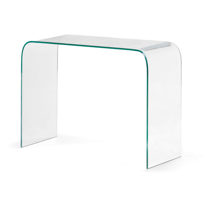 Mecca Glass Console Table   ZM 404128 ...
