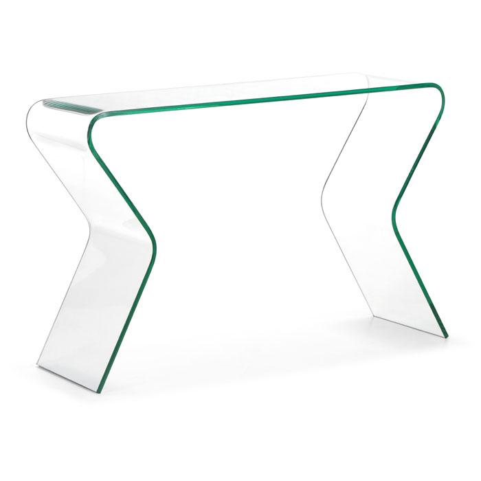 Respite Glass Console Table