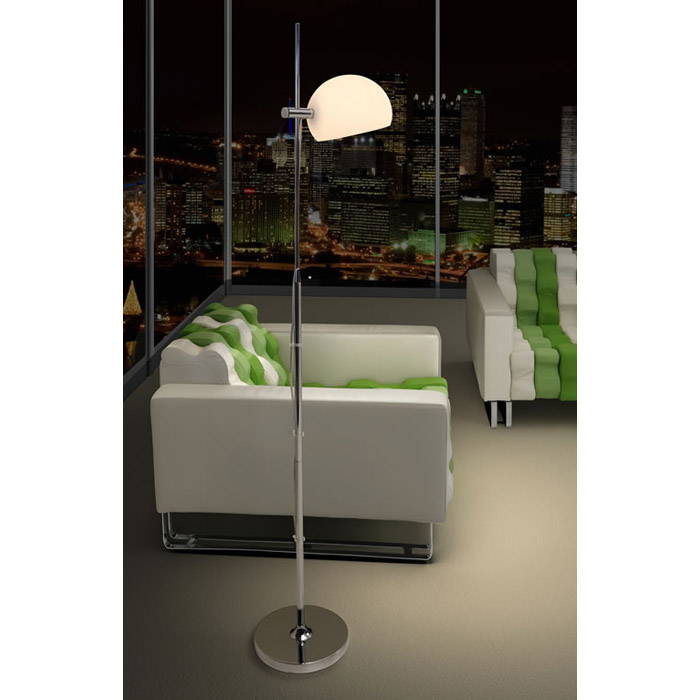 Astro Frosted Glass Floor Lamp - ZM-50012