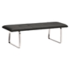 Cartierville Bench - Tufted, Black - ZM-500177