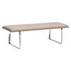Cartierville Bench - Tufted, Taupe - ZM-500186