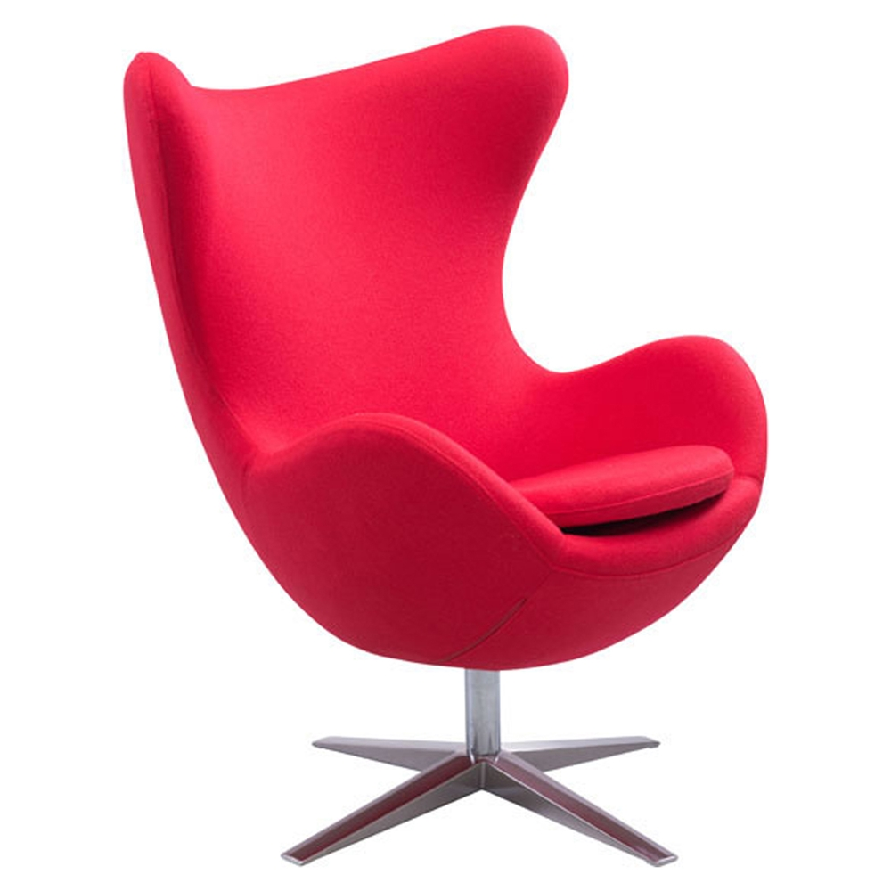 Skien Arm Chair Carnelian Red Dcg Stores