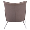 Ostend Occasional Chair - Saddle Brown - ZM-500509