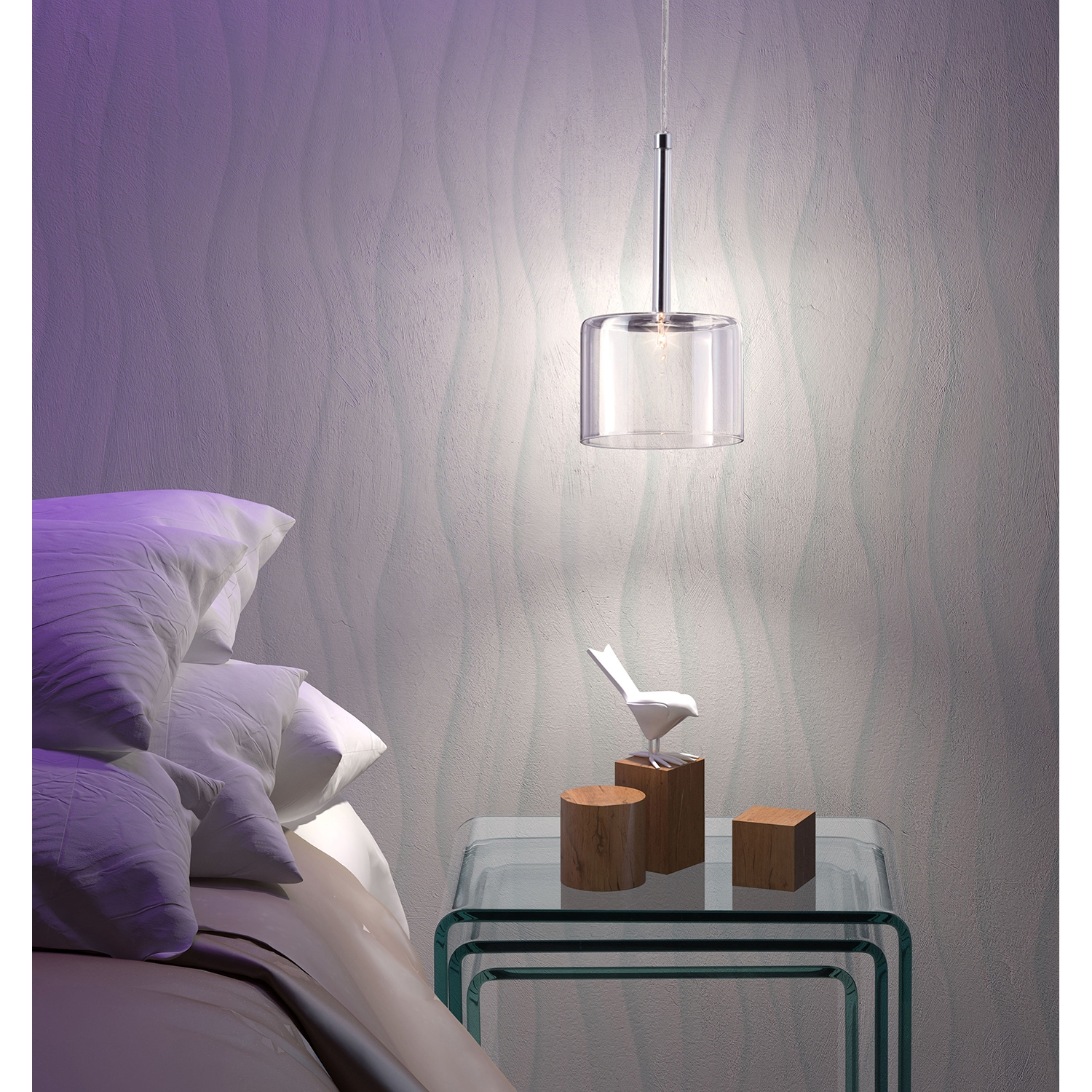 Storm Clear Ceiling Lamp - ZM-50136