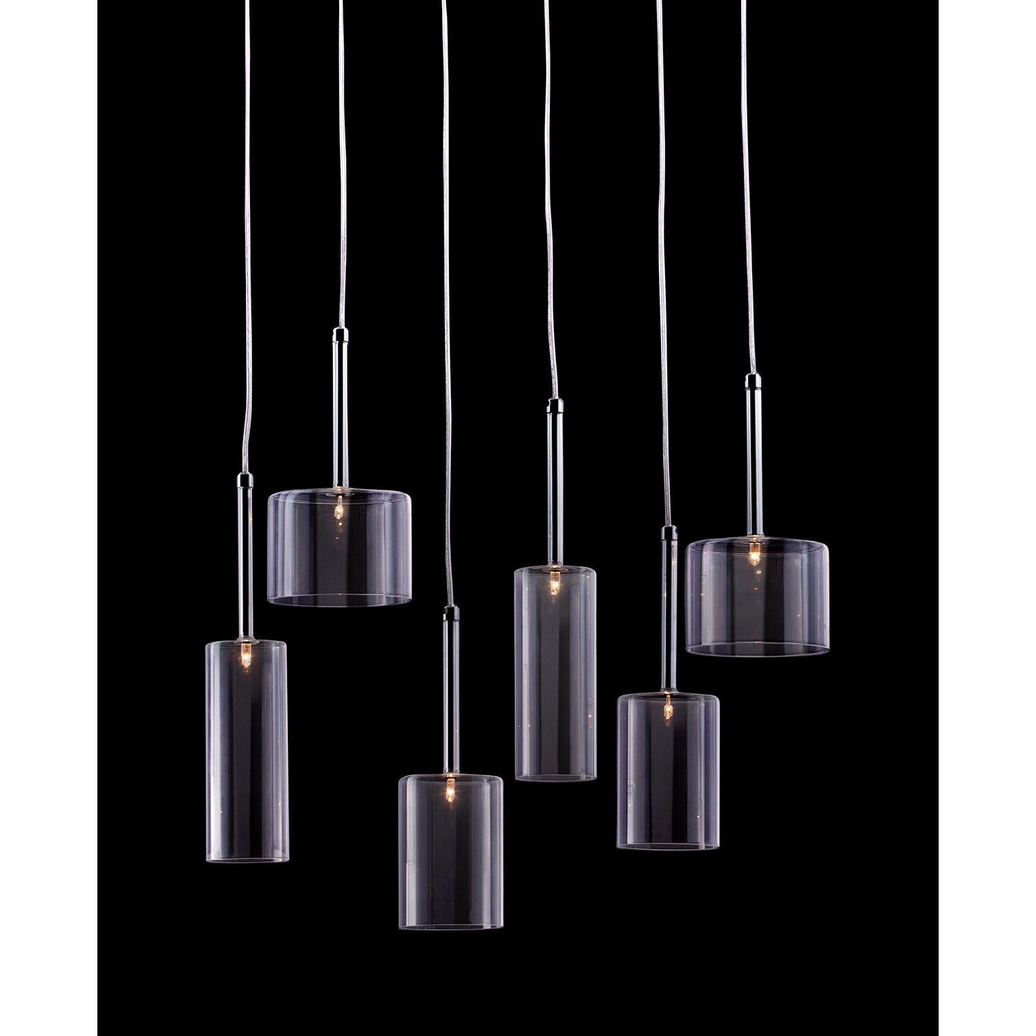Hale Clear Ceiling Lamp - ZM-50140