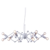 Sleet White Ceiling Lamp - ZM-50142