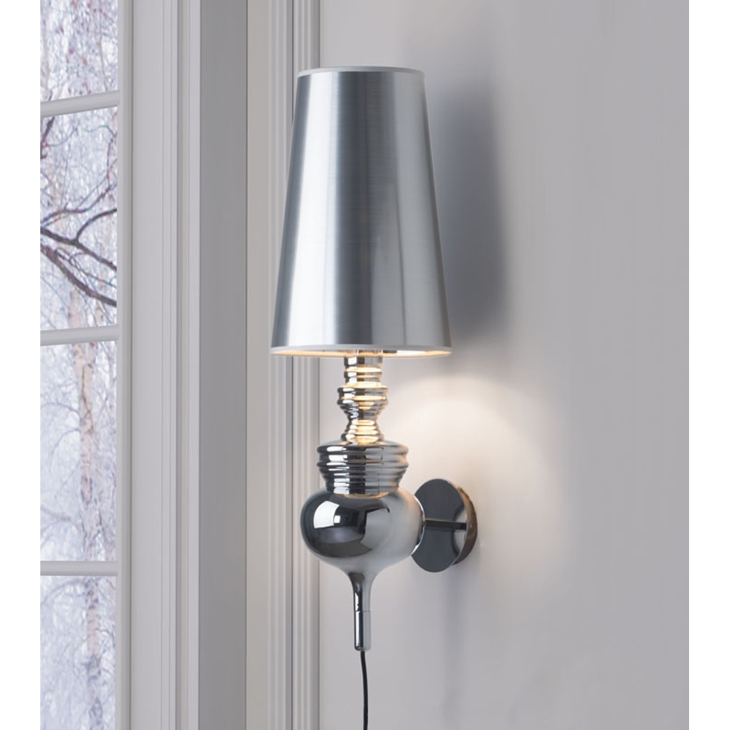 Idea Wall Lamp - Chrome - ZM-50402