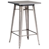 olympia square bar table  steel gunmetal  dcg stores - olympia square bar table  steel gunmetal  zm