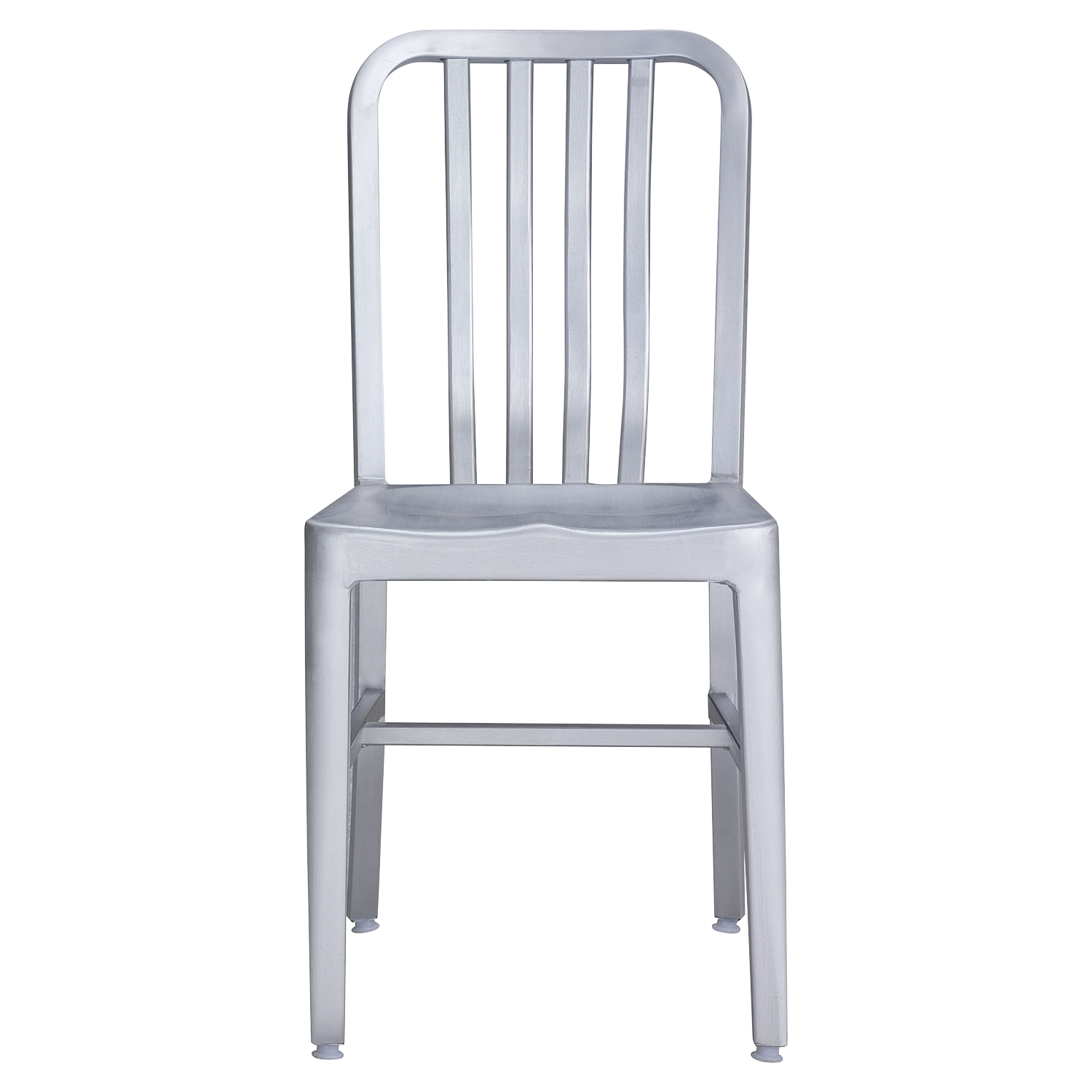 Gastro Brushed Aluminum Dining Chair - ZM-701197