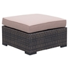 Bocagrande Ottoman - Brown and Beige - ZM-701625