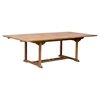 Regatta Extension Dining Table - Natural - ZM-703552
