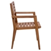 Nautical Dining Arm Chair - Natural - ZM-703557