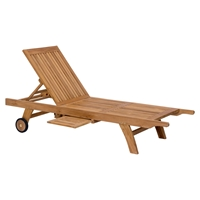 Starboard Chaise Lounge - Natural