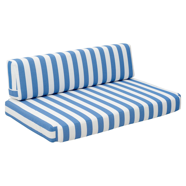 Bilander Sofa Cushion Blue And White Dcg Stores