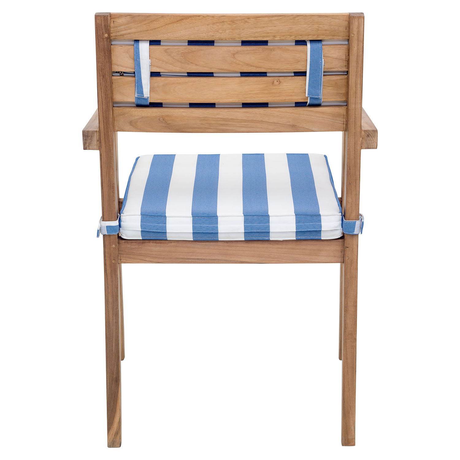 nautical chair back cushion blue and white dcg stores