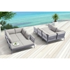 Sand Beach Double Base - Gray - ZM-703582
