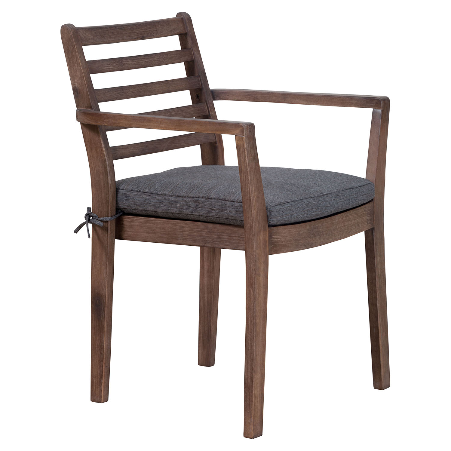 Sancerre Dining Chair - Natural and Gray - ZM-703589