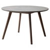 Elite Round Dining Table - Cement and Natural - ZM-703590