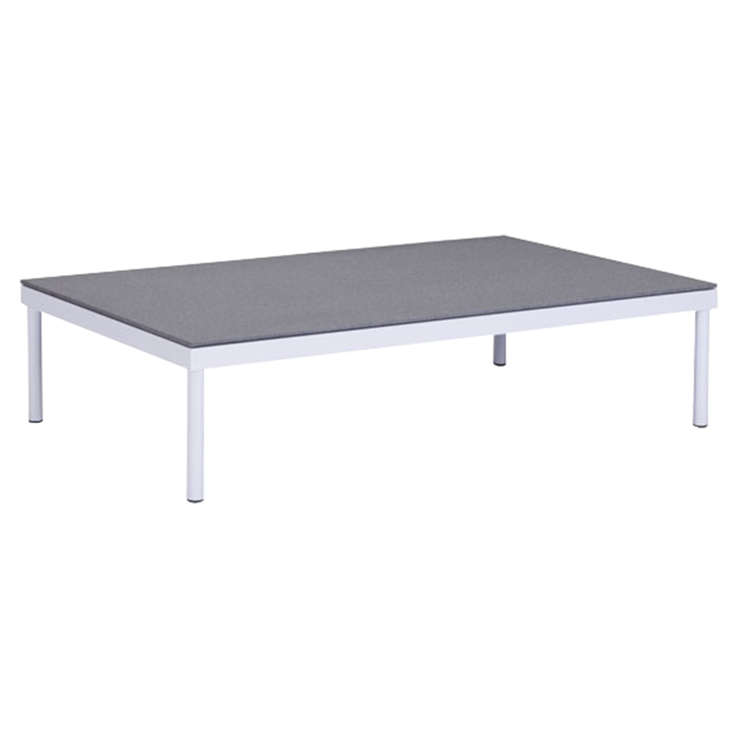 Maya Beach Coffee Table - White and Granite - ZM-703600