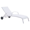 Casam Chaise Lounge - White - ZM-703602