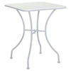 Oz Dining Square Table - White - ZM-703604