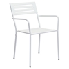 Wald Dining Arm Chair - White - ZM-703610